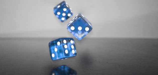 Rolling dice x 3